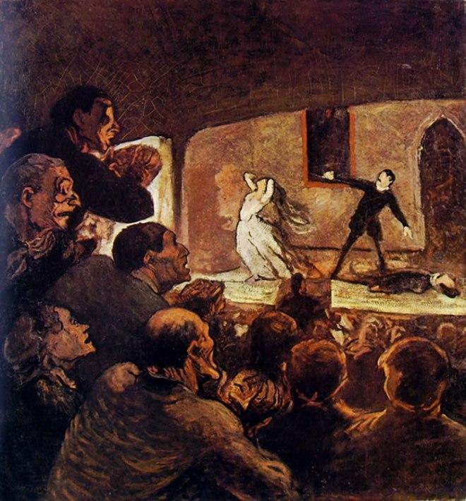 Honoré Daumier: A teatro