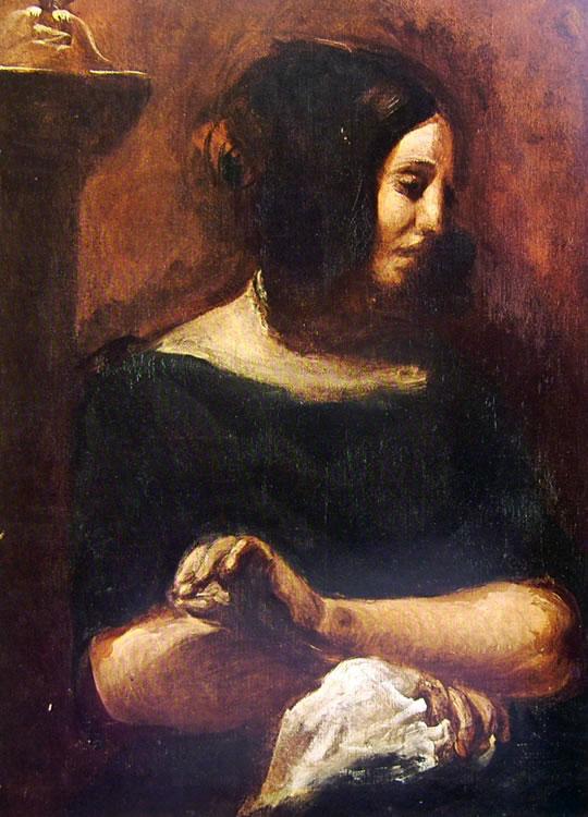 Eugène Delacroix: George Sand