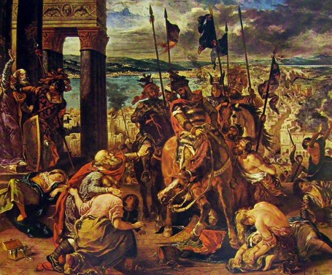 Eugène Delacroix: Ingresso dei crociati a Costantinopoli
