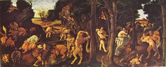 Piero di Cosimo: Storie dell'umanità primitiva