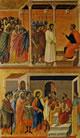 Duccio - Cristo davanti a Pilato e Cristo davanti ad Erode