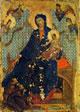Un opera di Duccio: madonna dei francescani