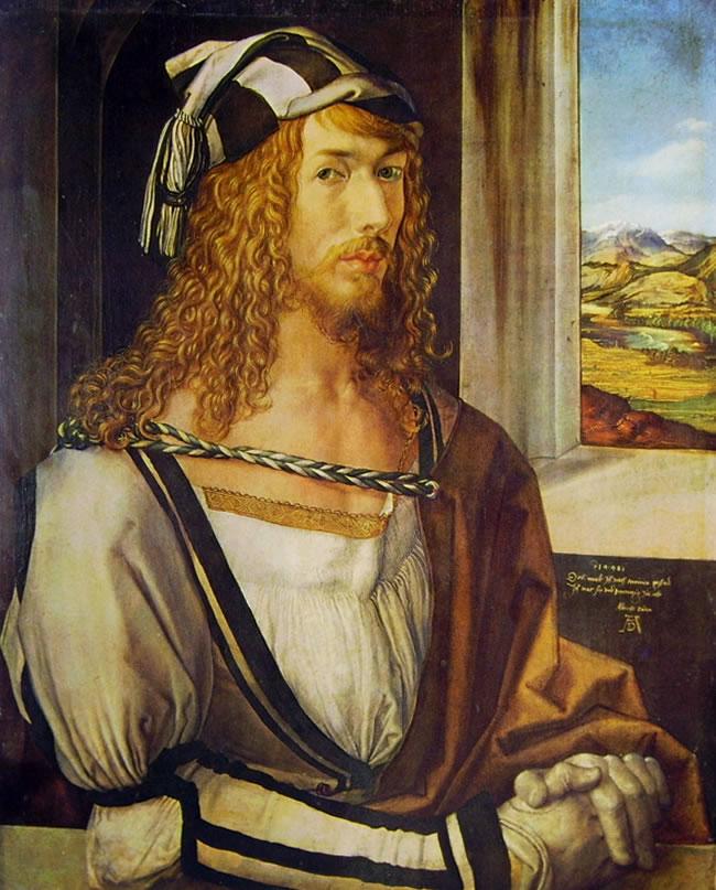 Albrecht Dürer: Autoritratto con i guanti