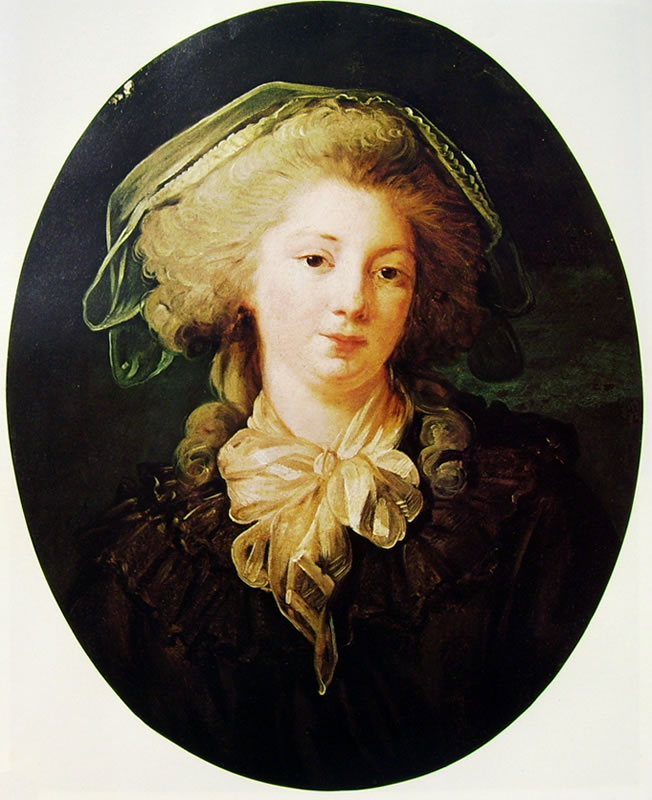Jean-Honoré Fragonard: La signora Bergeret de Norinval