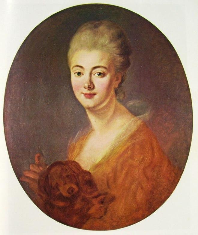 Jean-Honoré Fragonard: Constance de Lowendal, contessa de Turpin de Crisse