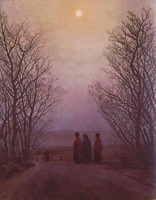 Caspar David Friedrich: Mattino di Pasqua
