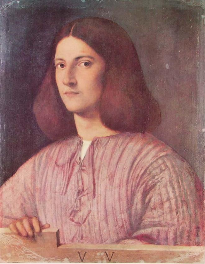 Giorgione: Ritratto di giovane