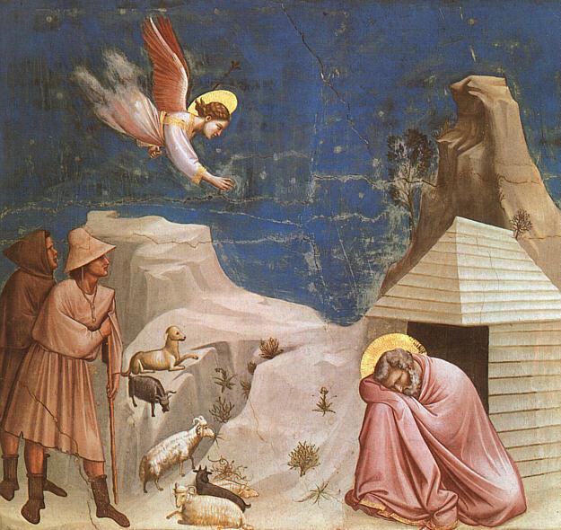 Giotto: Il sogno di Gioacchino