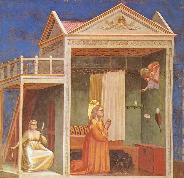 Giotto: L'annuncio a S. Anna