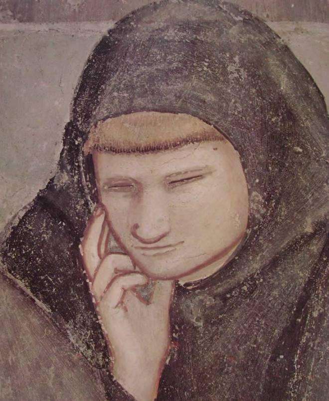 """Giotto: """"L'Apparizione al capitolo di Arles"""""""