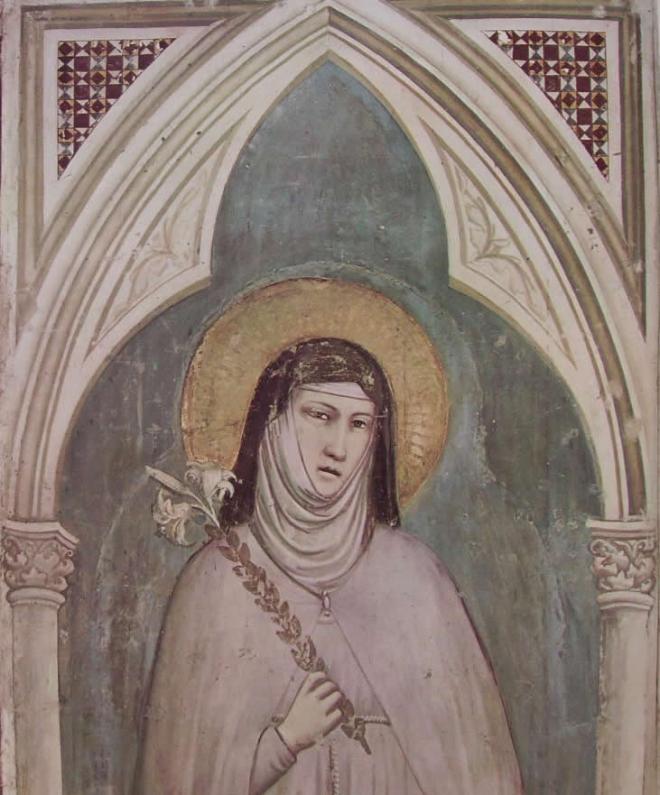 "Giotto: ""Santa Chiara"