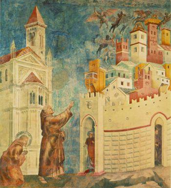 Giotto: La La cacciata dei demoni da Arezzo