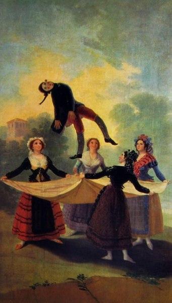 Goya - Il Fantoccio realizzato per gli arazzi reali