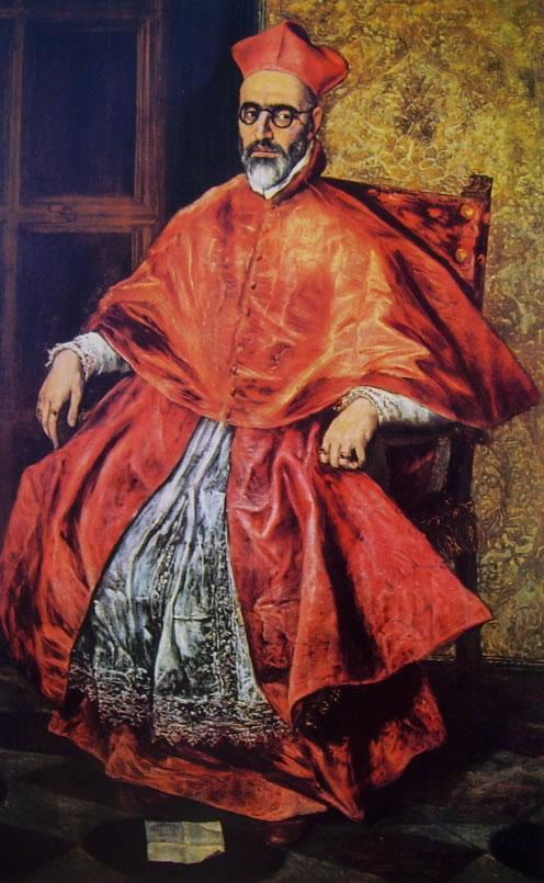 El Greco: Ritratto del cardinale Nino de Guevara