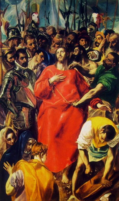 L'Espolio, cm. 285 x 173, Cattedrale di Toledo.