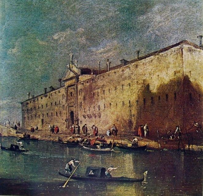 Il rio dei mendicanti, proprietà privata.