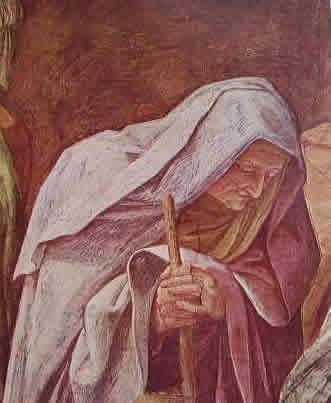 La nascita della Vergine -particolare 3