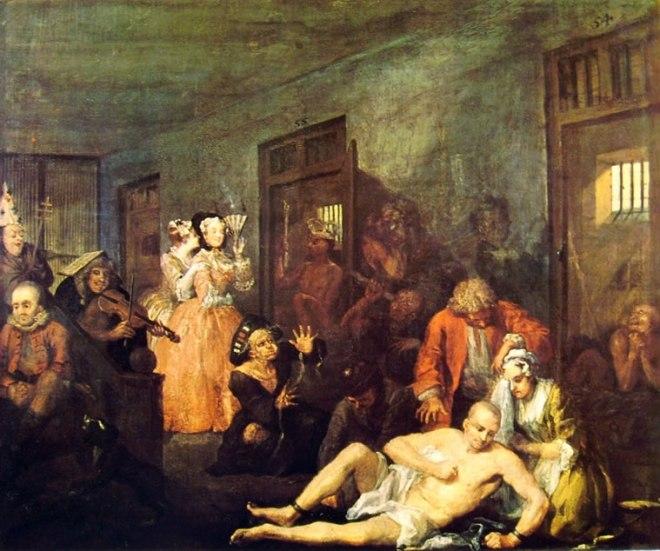 William Hogarth: La carriera del libertino - Il manicomio
