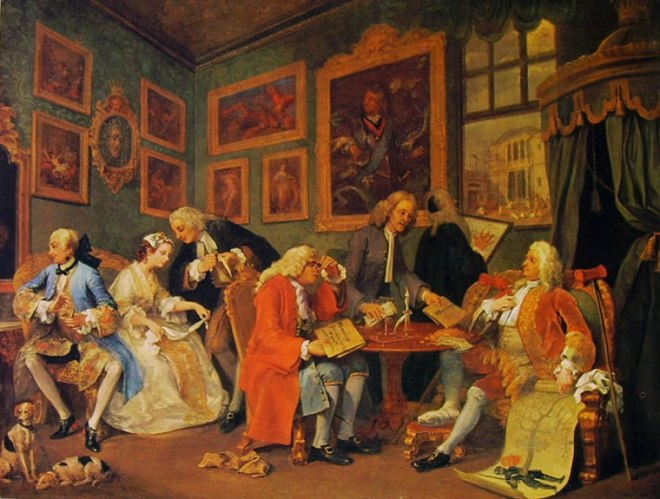 William Hogarth: Matrimonio alla moda