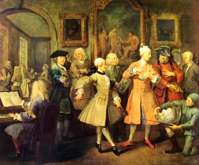 William Hogarth: La carriera del libertino - La Leev