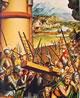 14 Holbein - Particolare dei pannelli di un altare della passione