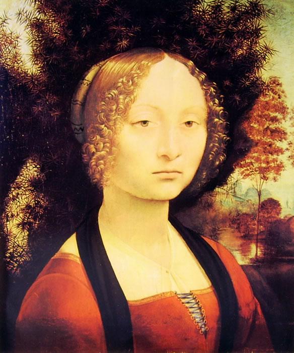 Leonardo da Vinci: Ritratto di Donna
