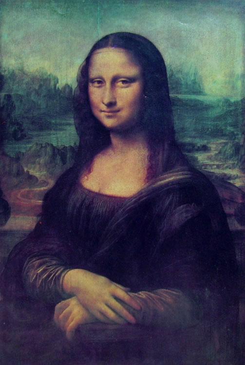 Leonardo: La Gioconda (Monna Lisa)