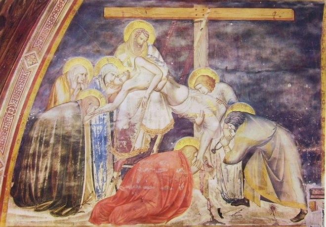Pietro Lorenzetti: Deposizione dalla croce