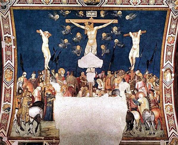 Pietro Lorenzetti: Crocifissione
