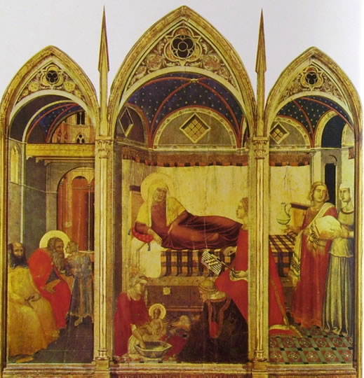 Pietro Lorenzetti:Pietro Lorenzetti Natività della Vergine