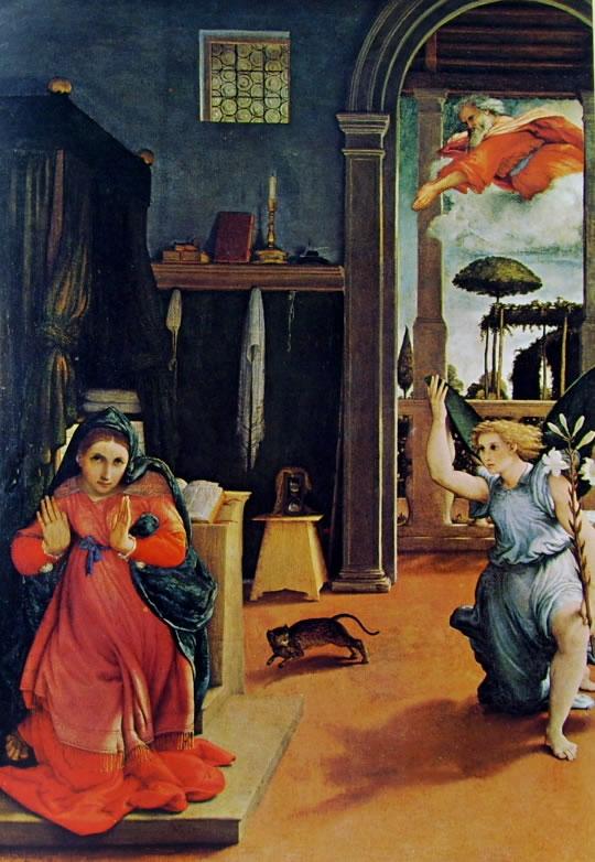 Lorenzo Lotto: Annunciazione