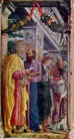 Mantegna - Predella pala di San Zeno - scomparto sinistra