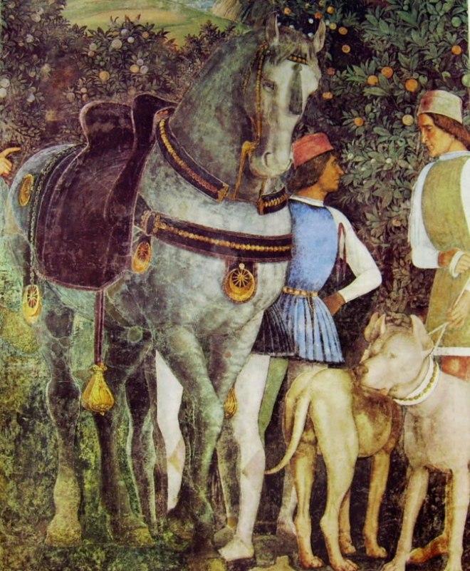 Mantegna: Camera degli sposi - Famigli