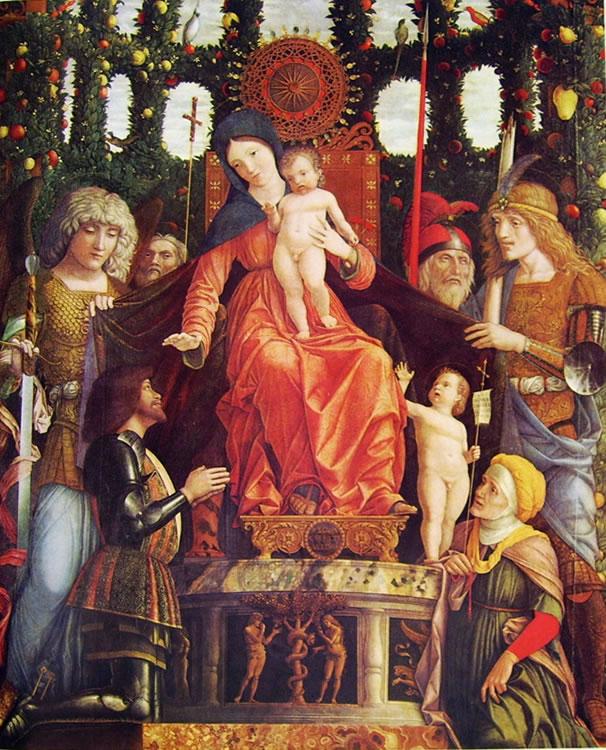 Mantegna: Madonna della vittoria