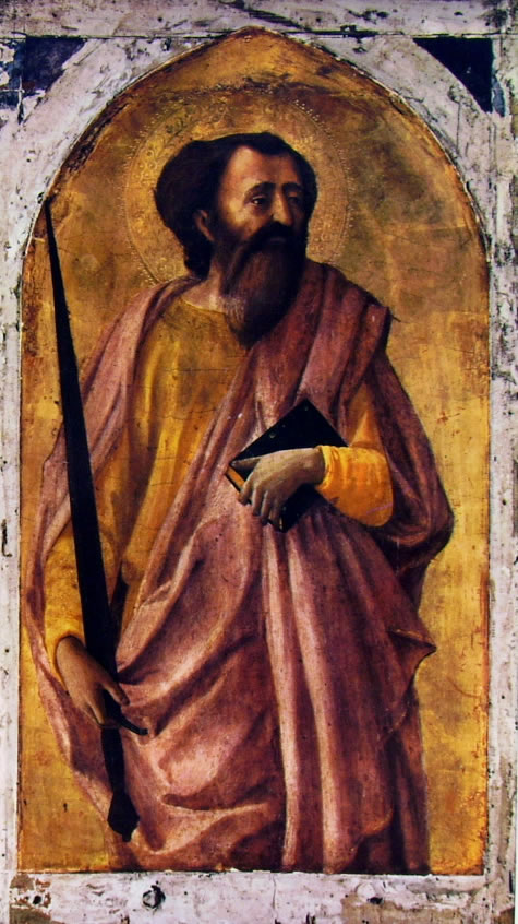 Masaccio: Polittico di Pisa: San Paolo