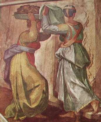 Michelangelo - Volta della Cappella Sistina, Giuditta e Oloferne