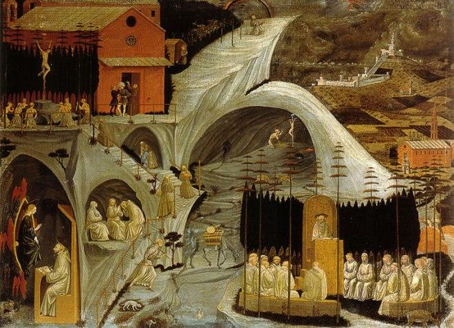 Paolo Uccello: Episodi di vita eremitica