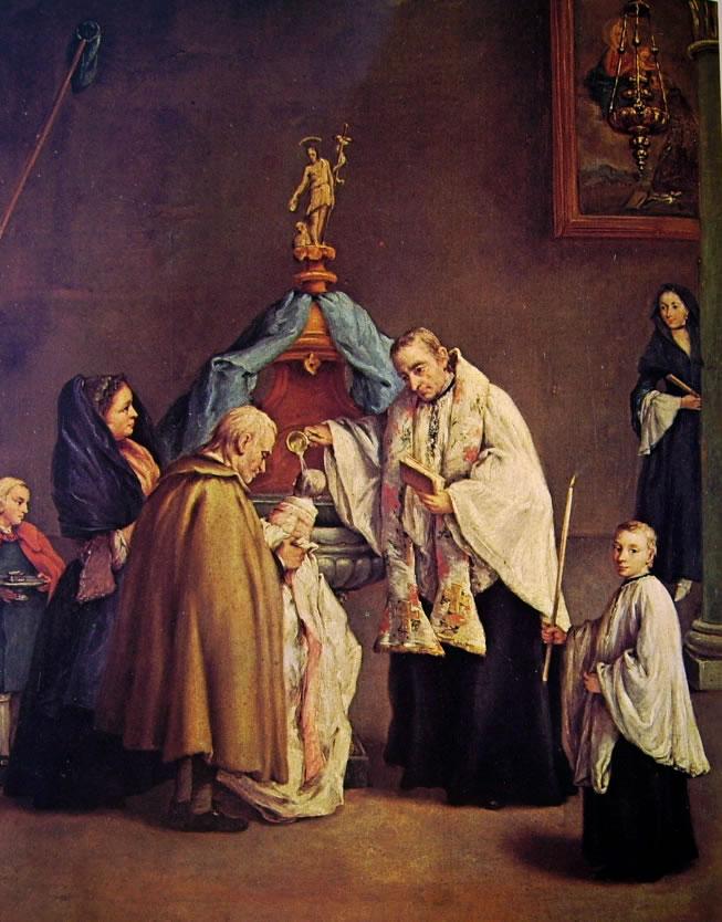Pietro Longhi: Il battesimo