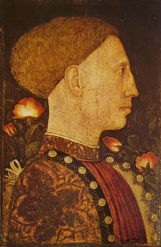 Pisanello: Ritratto di Lionello d'Este