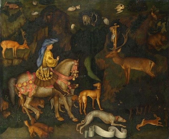 Pisanello: La visione di Sant'Eustachio