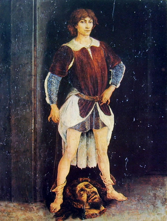 Antonio del Pollaiolo: Davide vincitore