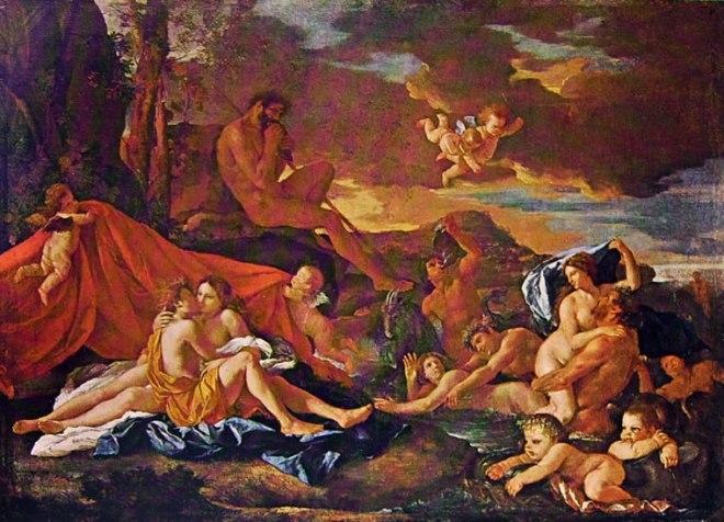 Nicolas Poussin: Aci e Galatea