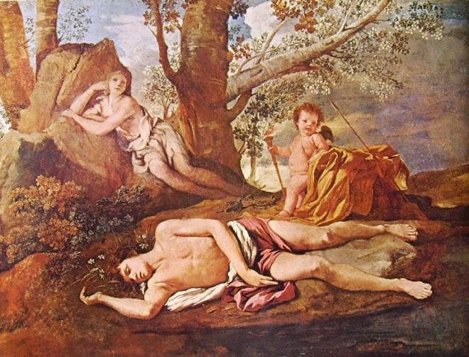 Nicolas Poussin: Eco e Narciso