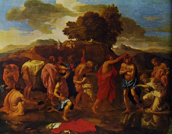 Nicolas Poussin: I sette sacramenti - Il Battesimo
