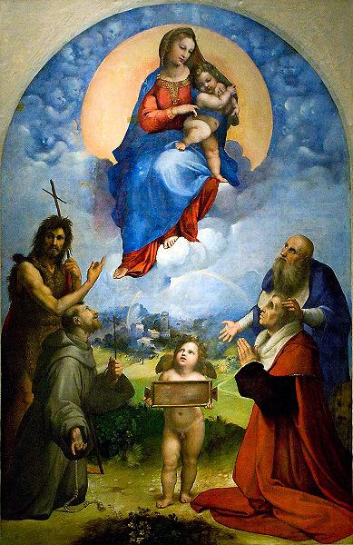 La Madonna di Foligno di Raffaello