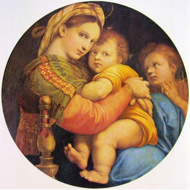 Raffaello Sanzio: Madonna della seggiola