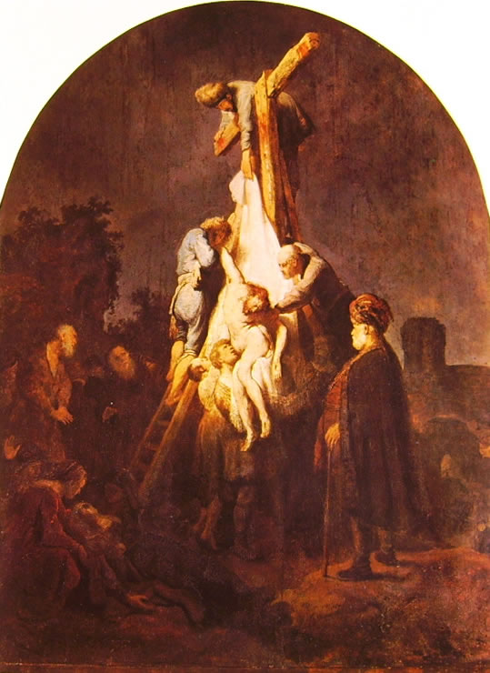 Rembrandt Harmenszoon Van Rijn: La deposizione dalla croce