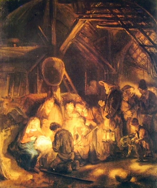 Rembrandt Harmenszoon Van Rijn: L'adorazione dei pastori