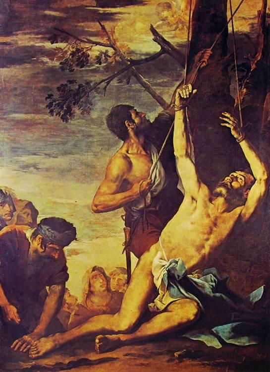 Salvator Rosa: Il martirio di San Bartolomeo