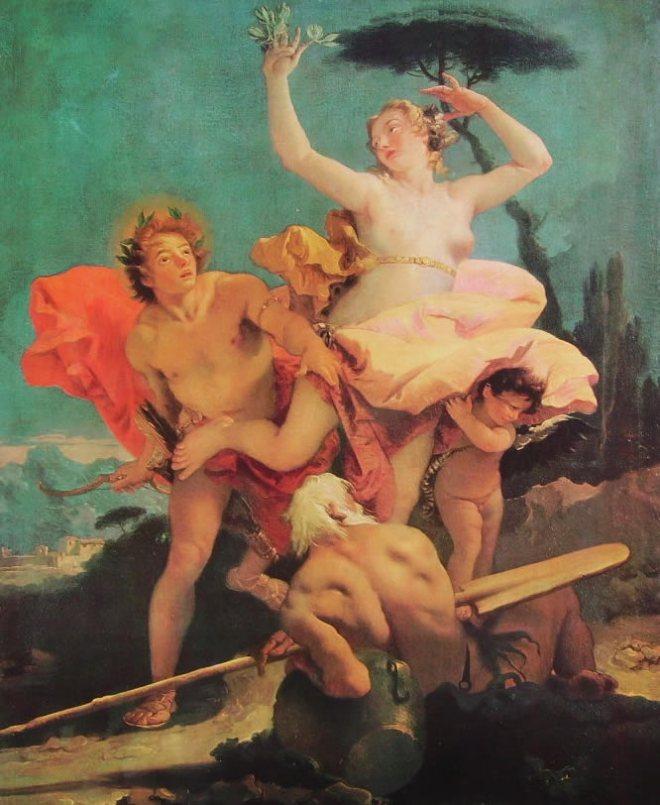 Il Tiepolo: Apollo e Dafne